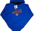 New York Mets Majestic MLB Double Play Pullover Hoodie Blue Youth Sizes on Ebay