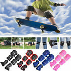 Skating Bike Knee Pads and Elbow Pads with Wrist Guards Protective Gear Kids