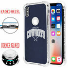 Dallas Cowboys #M Raised Edge Slim Protective Rubber Case for iPhone Xr X R Xs $14.95 USD on eBay