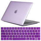 "For Macbook Air 13"" Inch 2018 A1932 Clear Rubberized Hard Case Keyboard Cover"