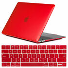 """For Macbook Air 13"""" Inch 2018 A1932 Clear Rubberized Hard Case Keyboard Cover"""