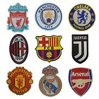 Europe Football Club Embroidery Iron On Patch for Barcelona Juventus Manchester
