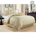 7-Piece Full Comforter Set Soft Bed In A Bag Home Bedroom Bedding Set image