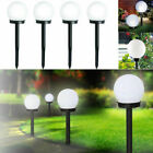 2/4/8xLED Solar Power Outdoor Garden Path Yard Ball Light Lamp Lawn Road Patio Z