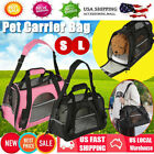 Comfort Pet Dog Nylon Handbag Carrier Travel Carry Bags For Small Animals S L US