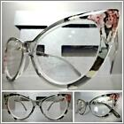 Women RETRO Cat Eye Style READING Eye Glasses Readers Floral Flower Design Frame