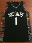 New Season Brooklyn Nets #1 D'Angelo Russell Black Basketball Jersey Size: S-XXL on eBay