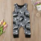 S-1532 Gray/Black Dinosauer Romper (Ready to Ship from Ohio) (Free Shipping)