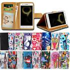 For Lenovo K Series SmartPhones - Leather Smart Stand Wallet Cover Case