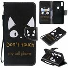 Cat Ears PU Leather Wallet Case Flip Cover Stand Card Slot For All Phones LG