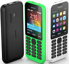 Original Nokia 215 Dual sim Card 2G GSM 1100mAh Unlocked Cheap Celluar Phone