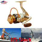 Interchangeable 12BB Ball Bearing Saltwater/ Freshwater Fishing Spinning Reel US $7.99 USD on eBay