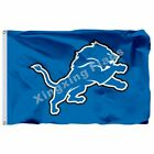 Detroit Lions Logo Flag 3Ftx5ft Banner 100D Polyester Flag S on eBay