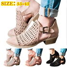 Womens Ladies Low Heel Flat Summer Sandals Flat shoes Casual Holiday Size New