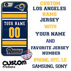 LOS ANGELES RAMS NFL JERSEY PHONE CASE COVER FOR iPHONE SAMSUNG LG HTC etcNAME # $21.98 USD on eBay