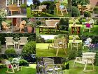 Tom Chambers Hetton Garden Furniture - Bench - Chairs - Table - Companion Seats