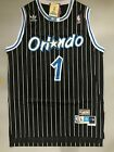 Tracy McGrady Orlando Magic Black Striped Throwback Stitched Jersey Size S-XXL on eBay