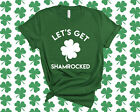 Let's Get Shamrocked St Pattys Day Shirt Funny St Patricks Day Shirt Shamrock...