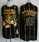 Toronto Raptors #15 Vince Carter Retro Mesh Basketball Jersey Size:S-XXL on eBay