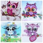 Special Shaped 5D Diamond Painting Owl DIY Cross Stitch Decor Kids Crafts Gifts