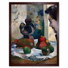 Gauguin Paul Still Life With Profile Of Laval Art Print Framed 12x16
