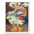 Pal Dancer Loie Fuller Folies Bergere Vintage Advert Art Print Framed 12x16