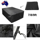 7/8/9ft Outdoor Pool Snooker Billiard Table Cover Polyester Waterproof Dust Cap $46.99 AUD on eBay