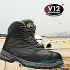V12 Torque Safety Boots Trainer Shoe Composite Toecap Metal Free Vegan Friendly