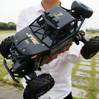 4WD RC Monster Truck Off-Road Vehicle 2.4G Remote Control Buggy Crawler Car XYCQ
