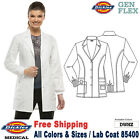 Dickies Scrubs GEN FLEX Women's Youtility Button Front 32 Inch Lab Coat 85400