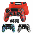 Silicone Rubber Skin Case Gel Protective Cover for Playstation 4 PS4 Controller