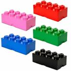 Giant Lego Storage Brick 8 Building Blocks Furniture Kids Large Box 8 Colours