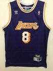 Kobe Bryant #8 Los Angeles Lakers Vintage Purple Throwback Stitched Jersey Mens