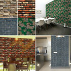 3d Tile Sticker Pvc Wall Decal Removable Faux Brick Stick-on Home Decoration Hot