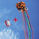 4M Large Kite Easy Fly Stunt Foldable Big Octopus Kite with 30m Flying String