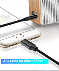 3.5MM TO 8PINS AUDIO CABLE ADAPTER FOR APPLE IAPD IPHONE CAR HOME SPEAKER EARBUD