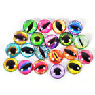 20PCs Plastic Teddy Doll Safety Eyes For Animal Toy Puppet Making DIY 10/15/20mm