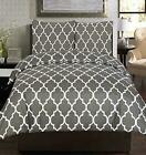 Utopia Bedding 3 Piece Printed Queen, Grey Duvet Cover Set with 2 Pillow Shams image