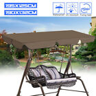 "75"" x 60""Outdoor Patio Swing Canopy Top Replacement Cover Garden UV Blocking"