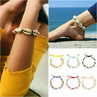 Sea Shell Bracelet Women Girls Jewelry Summer Beach Adjustable Ankle Bracelet US image