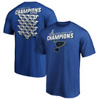 St Louis Blues 2019 Stanley Cup Champions Jersey Roster T Shirt Royal