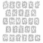 Crafter's Companion Clear Acrylic Stamps - Letters - Alphabet