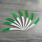 30pcs 5*Archery Turkey Fletches Natural Fletching Right Wings DIY Arrow Feather