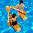 2 Pairs Fun Summer Log Flume Joust Swimming Pool Inflatable Float Game Set Toy $49.95 USD on eBay