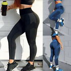 Ladies  High Waist Tight Leggings Yoga Sports Stitching Fitness Pants New