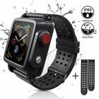 For Apple Watch Series 3 4 Life Waterproof Case Soft Silicone Band38mm 42mm 44mm image