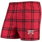 Concepts Sport Chicago Bulls Red Homestretch Flannel Boxer Shorts on eBay