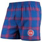 Concepts Sport Detroit Pistons Royal Homestretch Flannel Boxer Shorts on eBay