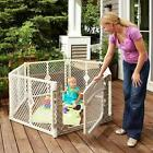 Ultimate Baby Pet Gate Indoors Outdoor Kid Safe Play Area Dog Play Yard