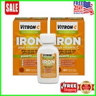 Vitron-C High Potency Iron Supplement with Vitamin C | 60 Count | 2 Pack $15.99 USD on eBay